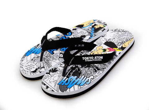 Design Summer Beach Anti-skid Korean Anime Stylish Couple Sandals [4918326468]