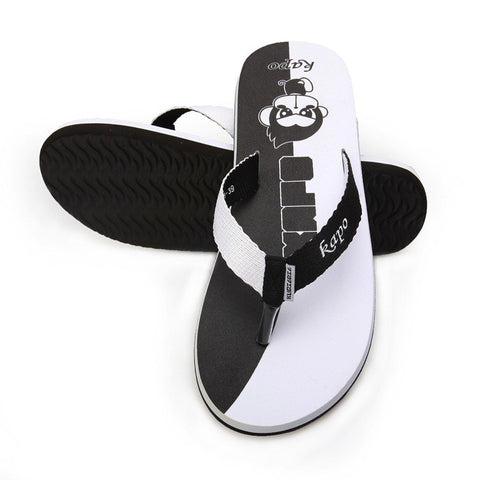 Cool Cartoons Stylish Couple Beach Shoes Anti-skid Summer Slippers [4918327748]