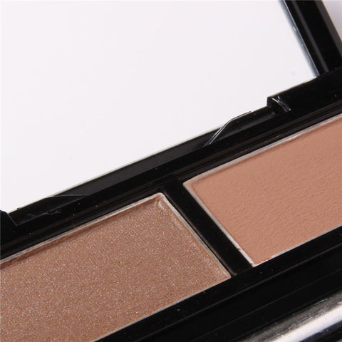 Double Color Natural Waterproof Eyebrow Color [9036708868]