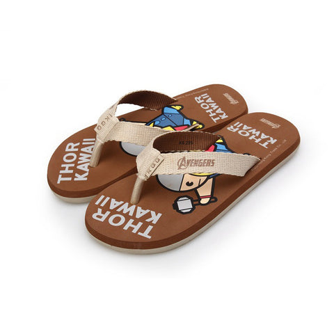 Beach Casual Shock-absorbing Anti-skid Cartoons Slippers [4918326340]