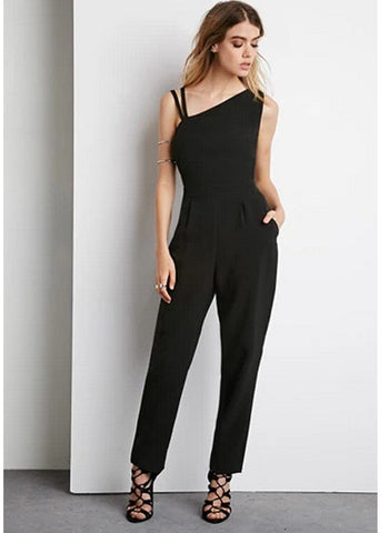2016 New Summer Sexy Black Romper [6331492228]