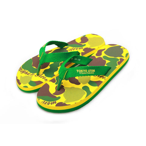 Cartoons Print Anti-skid Couple Beach Men Slippers [4918324612]