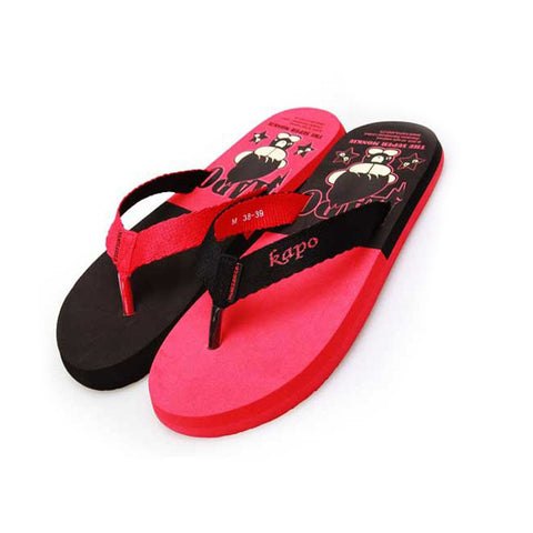 Cool Summer Cartoons Anime Stylish Men Anti-skid Slippers [4918326724]
