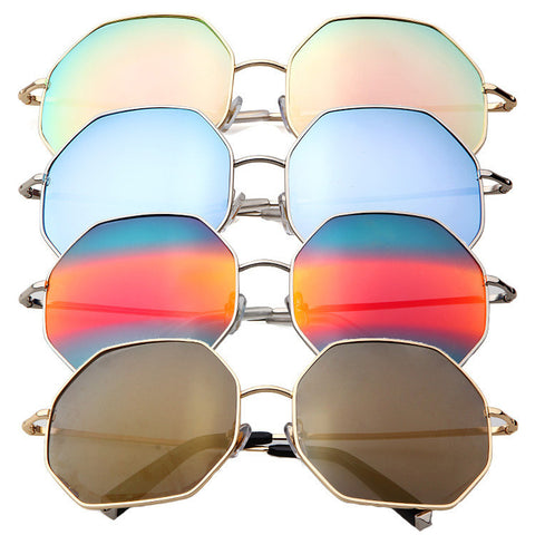 Strong Character King Size Sunglasses Uv Proof Mirror [4915047556]