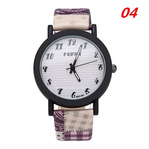 Gift Designer's Good Price Trendy New Arrival Awesome Great Deal Korean Stylish Ladies Plaid Vintage Couple Watch [4933060868]
