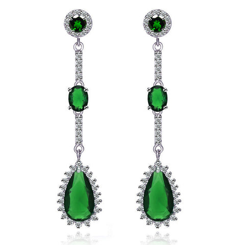 Fashion Accessory Stylish Classics Water Droplets Earrings [4918340228]