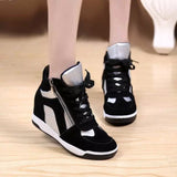 Women Fashion Sneakers Thick Soled Shoes = 4443110916