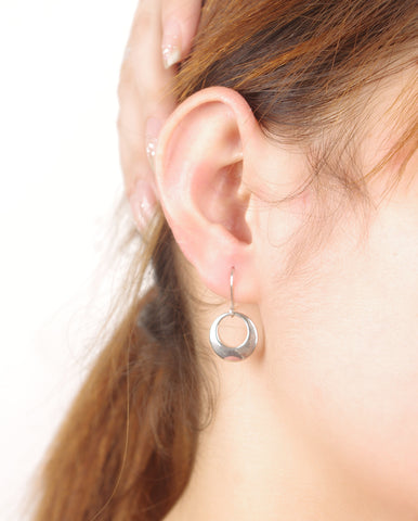 Accessory Simple Design Stylish Trendy Metal Earrings [4918472452]