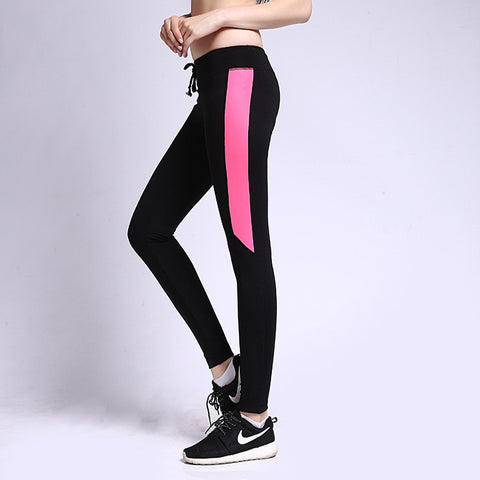 Ladies Stylish Gym Quick Dry Pants Yoga Cropped Pants [4915718852]