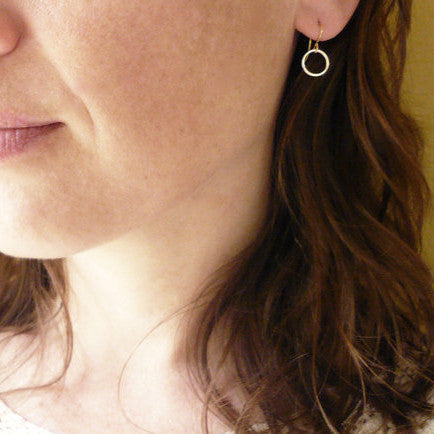 Accessory Simple Design Metal Simple Earrings [4918470532]