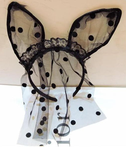 Lace Black Hair Accessories Hairband [9184222788]