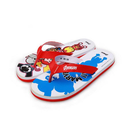 Cartoons Print Anti-skid Couple Cool Home Slippers [4918326276]