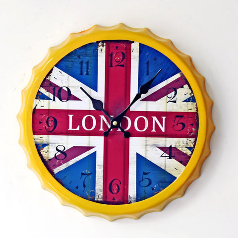 Creative Wall Sticker Decoration Clock [4914940420]