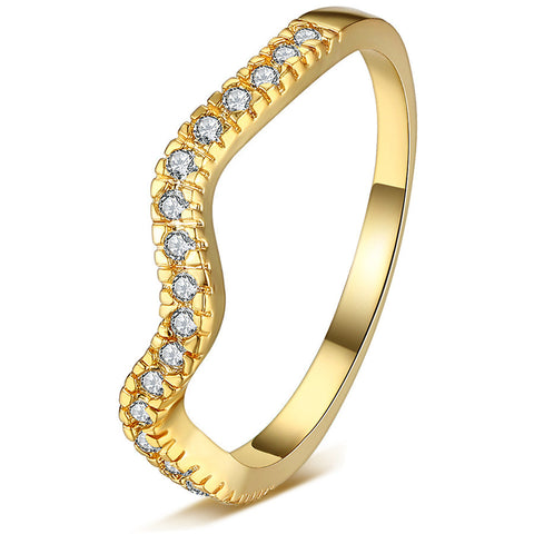 Jewelry New Arrival Shiny Gift Simple Design Stylish Environmental Diamonds Ring [4918318660]