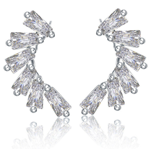 Accessory Stylish Crystal Earrings [4918332420]