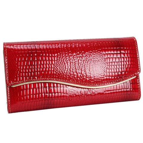Leather Ladies Bags Innovative Fashion Wallet [9248532484]