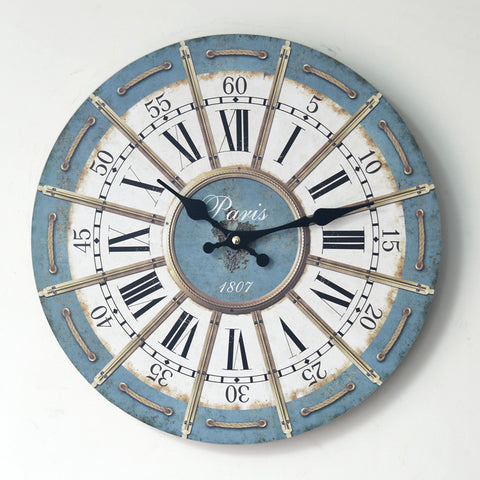 Roman Vintage Clock Home Decoration Quiet Brush [4914941444]