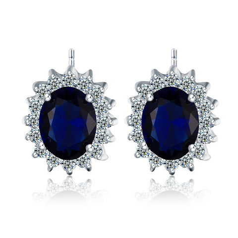 Accessory Hot Sale Stylish Diamonds Gemstone Earring Earrings [4918331332]