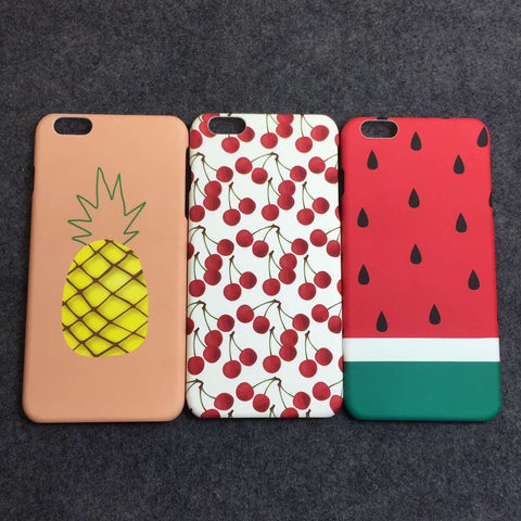 Women and Men Gift - iPhone6 6S Case Pineapple Pattern Summer Fashion Style Lovely  = 4827932548