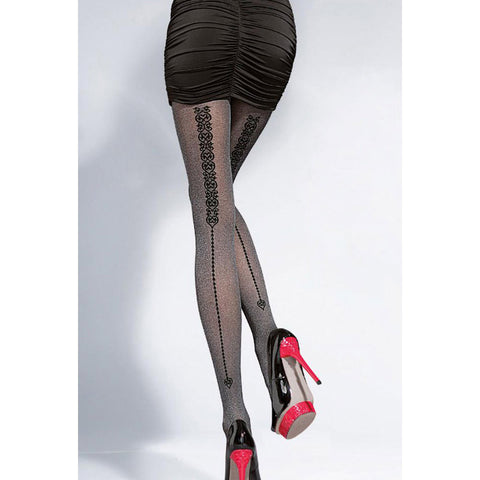 Black Dress Sexy Pants Pantyhose = 4799417924