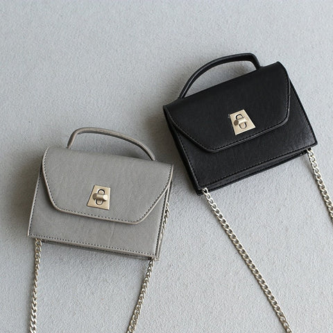 Chain Bags Stylish Strong Character Mini One Shoulder Lock [4915814532]