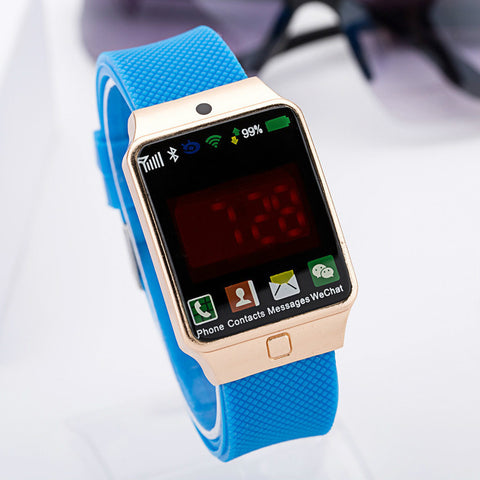Stylish Great Deal Gift Trendy Awesome Designer's New Arrival Good Price LED Electronic Casual Silicone Sweets Watch [4933060420]