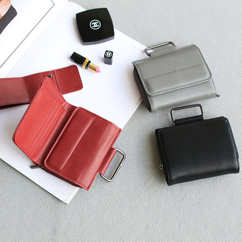 Strong Character Vintage Multi-functioned Mini Bags Wallet [4915814916]