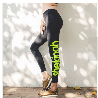 Korean Sports Yoga Quick Dry Permeable Jogging Stretch Gym Pants [6358681540]