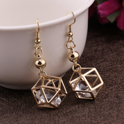 Hot Sale Style Hollow Out Earrings [4915598404]