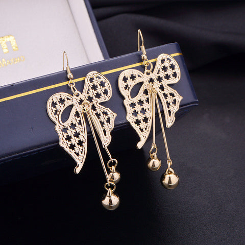 Accessory Hot Sale Stylish Butterfly Earrings [4915645508]