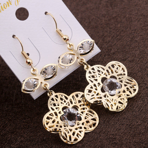 Fashion Stylish Crystal Earring Earrings [4915584964]