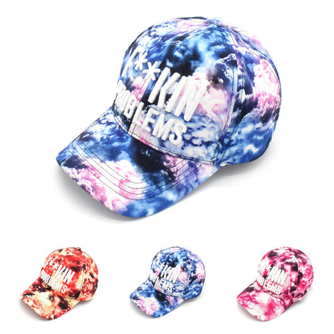 Embroidery Alphabet Outdoors Baseball Cap Ladies Hip-hop Hats [4917717700]