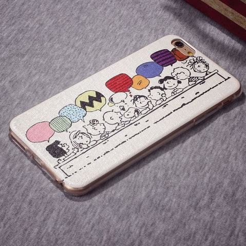 On Sale Stylish Iphone 6/6s Hot Deal Cute Hot Sale Lovely Iphone Apple Soft Cartoons Phone Case [4915488644]