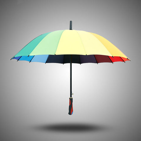 Stylish Design Strong Character Korean King Size Creative Rubber Umbrella [4918243140]