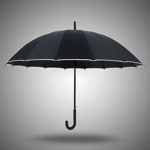 Strong Character Stylish Design Straight Rod Creative Umbrella [4918245508]