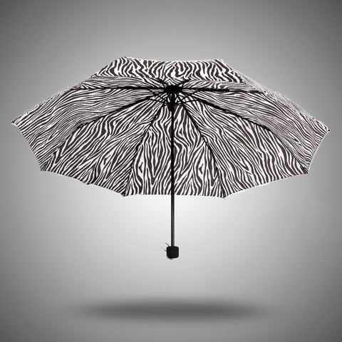 Strong Character Stylish Design Korean Stripes Uv Proof Umbrella [4918246212]