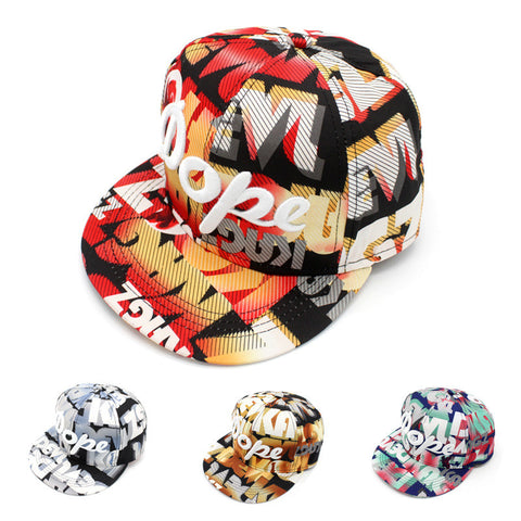 Geometric Pattern Outdoors Alphabet Embroidery Autumn Hip-hop Hats [4917717380]
