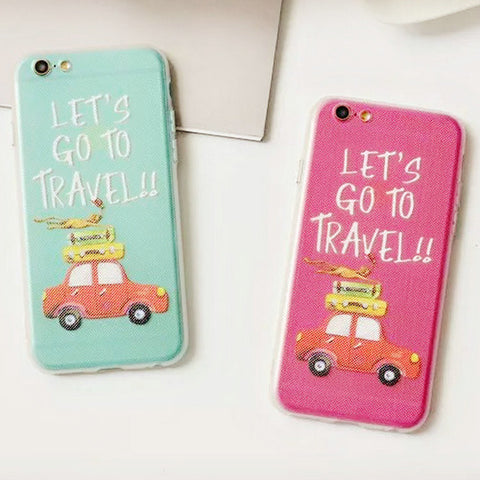 Hot Deal Hot Sale Cute Stylish On Sale Iphone 6/6s Korean Cars Couple Phone Case [4915505028]