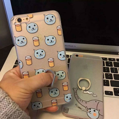 Cartoons Phone Case Ring Rack [4915505284]