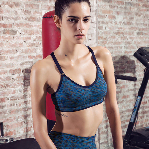 Ladies Stylish Bra Gym Yoga Vest Sports Bra [4915749956]