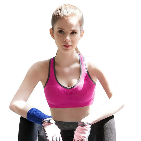 With Steel Wire Vest Underwear Professional Yoga Sports Bra [4915630020]