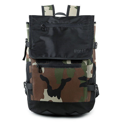 Backpack Korean Camouflage Bags Travel Bags [4915434500]