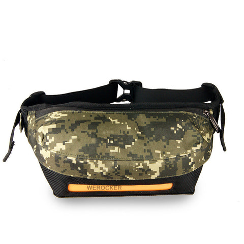 Men Bags Multi-functioned Outdoors Korean Silver One Shoulder Messenger Bags Phone [4915417540]