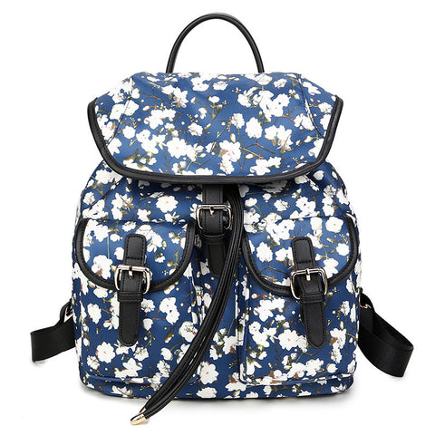 Back To School Comfort Stylish On Sale Hot Deal Casual College Print Korean Backpack [4915456772]
