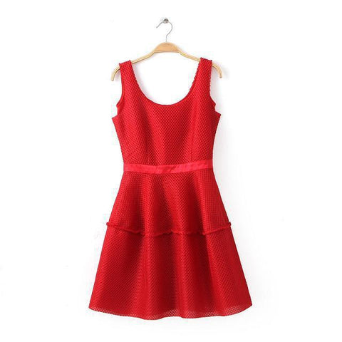 Baby Star Dress Sleeveless One Piece Dress [5013117508]