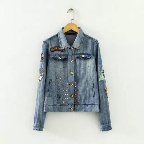 Baby Stylish Rinsed Denim Denim Tops Jacket [5013117700]