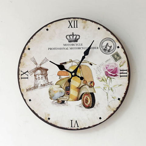 Home Living Room Decoration Quiet Clock [4914941956]