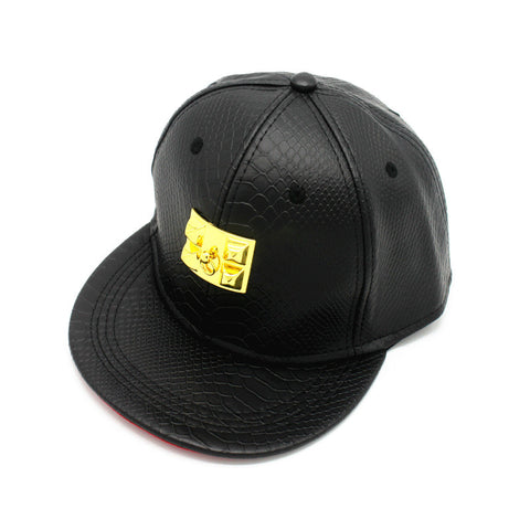 Hip-hop Style Leather Baseball Cap Hats [4917657028]