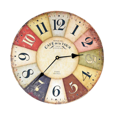 Decoration Wall Sticker Electronic Clock [4914941252]