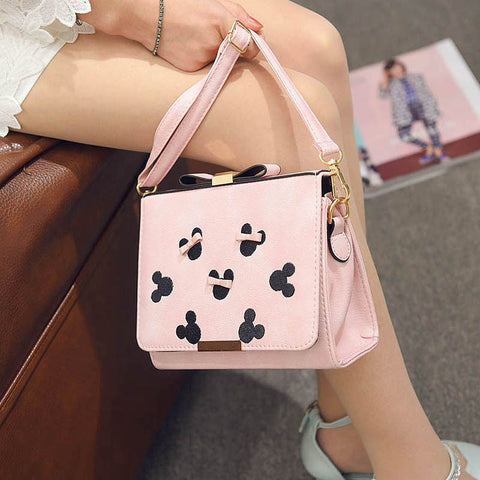 Bags Lovely Embroidery Stylish Korean One Shoulder Messenger Bags [4982897988]